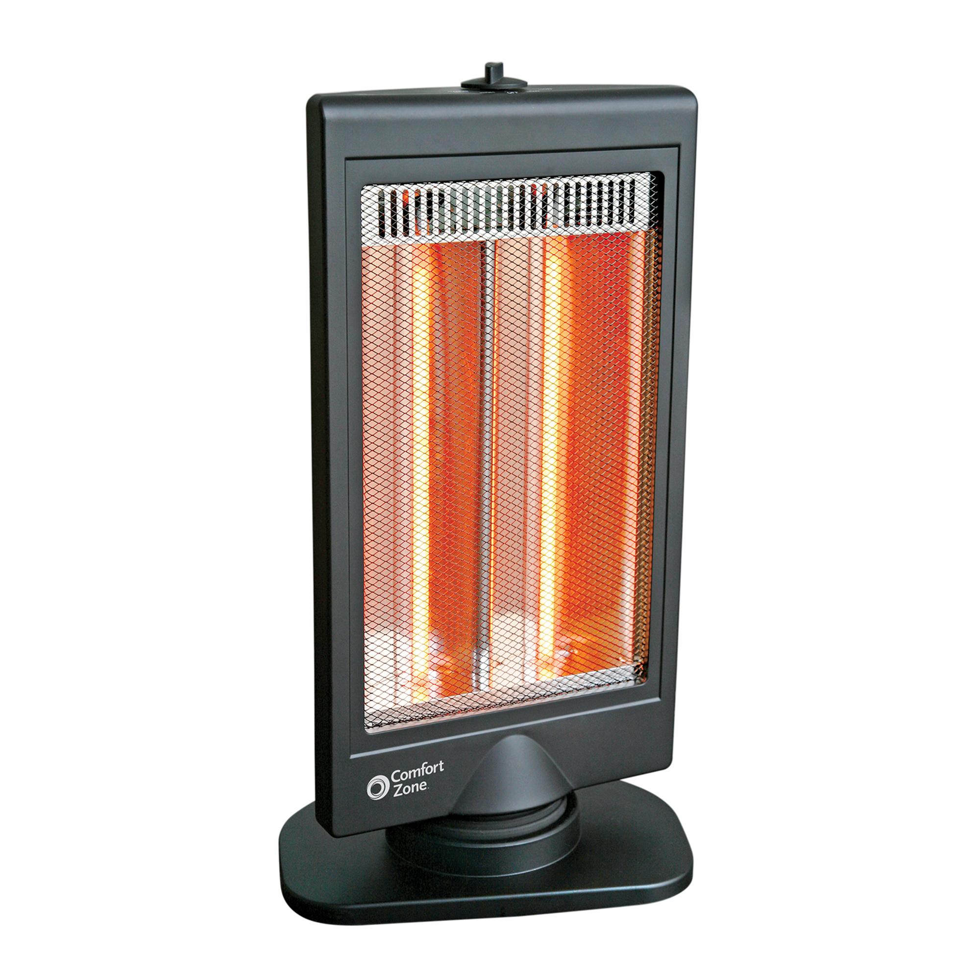 Comfort Zone Flat Panel Halogen Heater Kamcor
