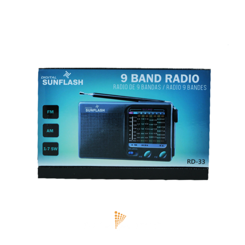 Sunflash Am Fm Short Wave Radio Transmitter Kamcor